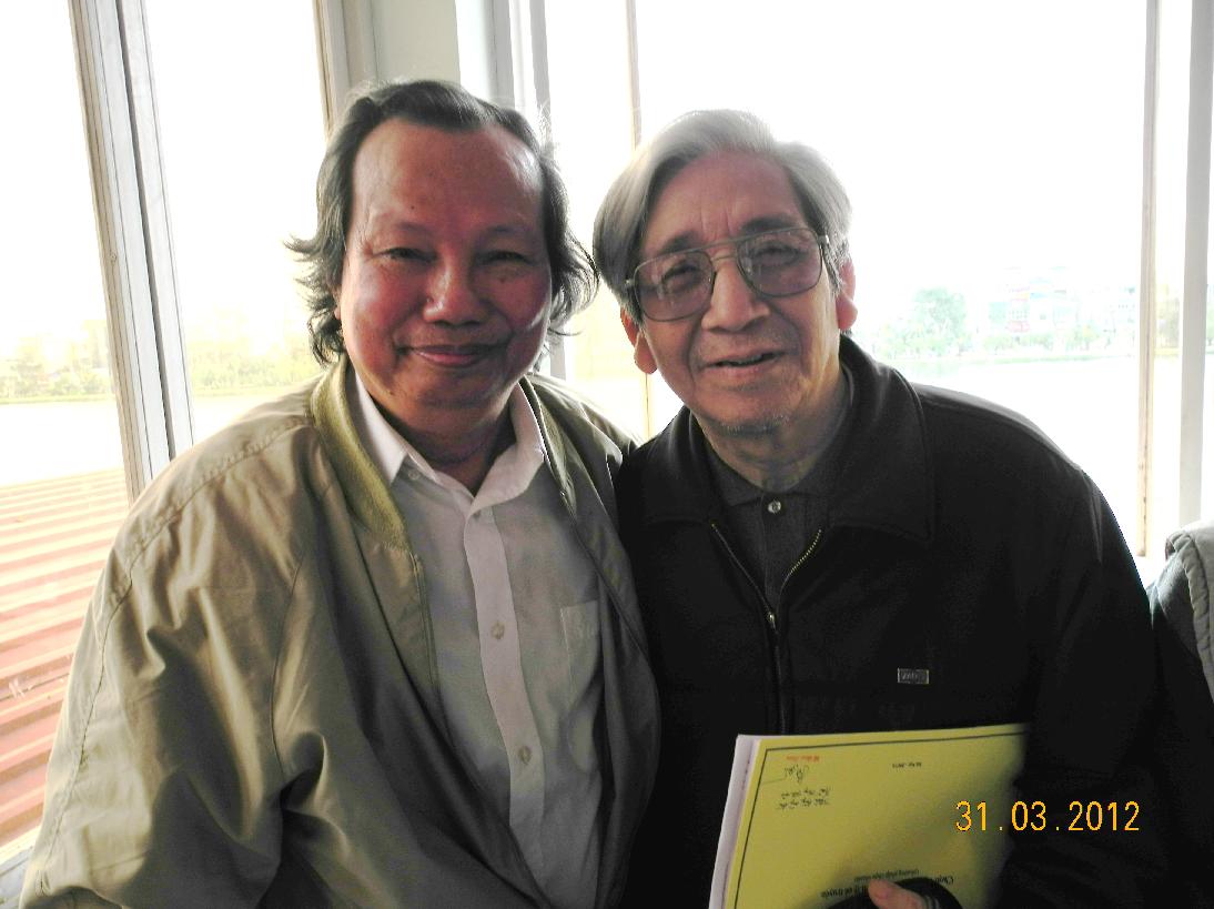 Vũ Đình Phàm và Trần Huy Thuận